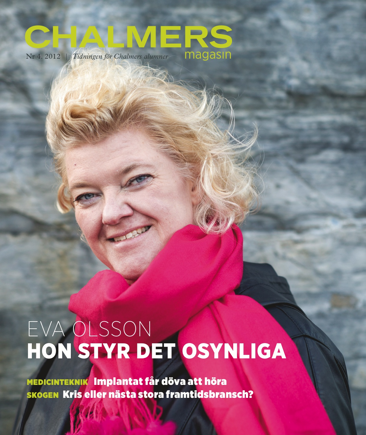 Chalmers Magasin 2012 nr. 4